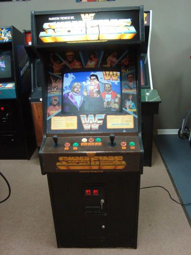 WWF Superstars Of Wrestling Arcade Game Hulk Hogan Andre The Giant