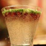 Pomegranate Basil Spritzer (Fresh & Natural Foods) #dairyfree #glutenfree #vegan