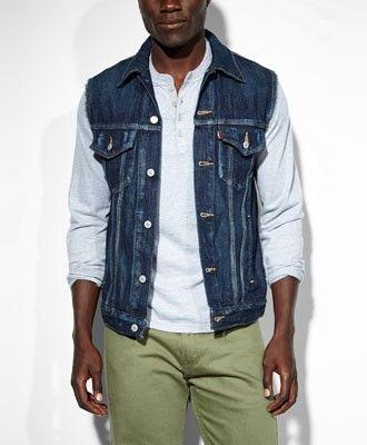 Levis Jeans Weste Gridlock