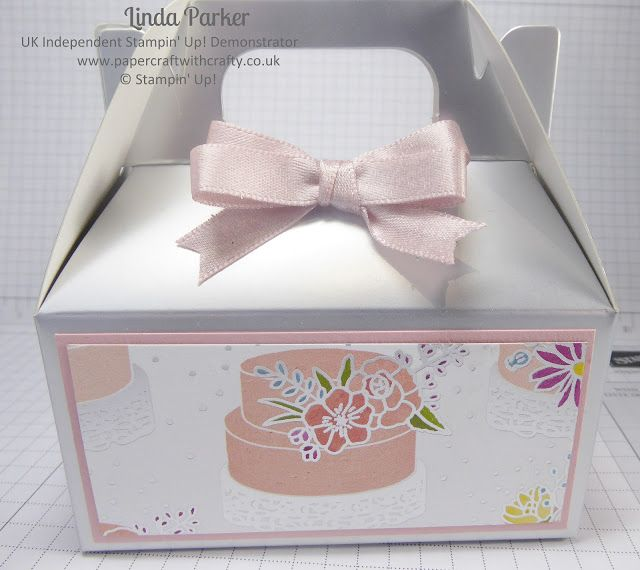 Silver Mini Gable Boxes & Sweet Soiree DSP