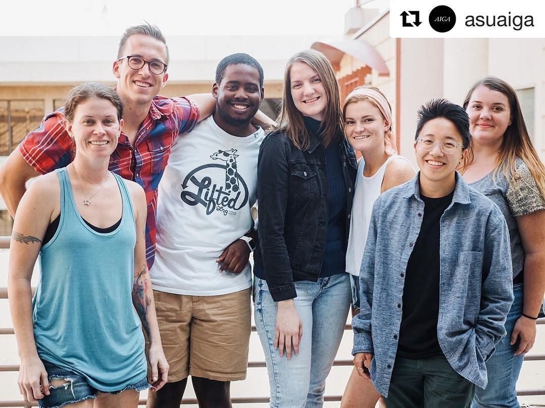 Repost From Visual Communication Design Student Organization Asuaiga Welcome Back Everyone A With Images Visual Communication Design School Design Student Organization