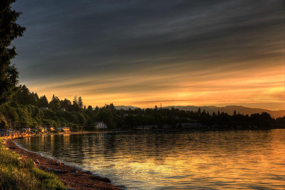 "photo credit: Randy Hall, ""Before Sunset"", Qualicum Beach, BC"