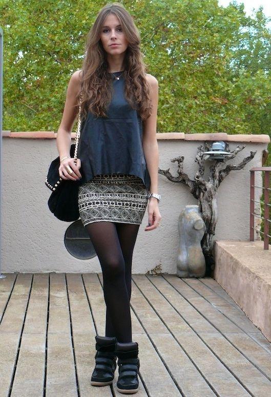 12 Outfits con minifalda para verte linda y no vulgar 4780c42191a1