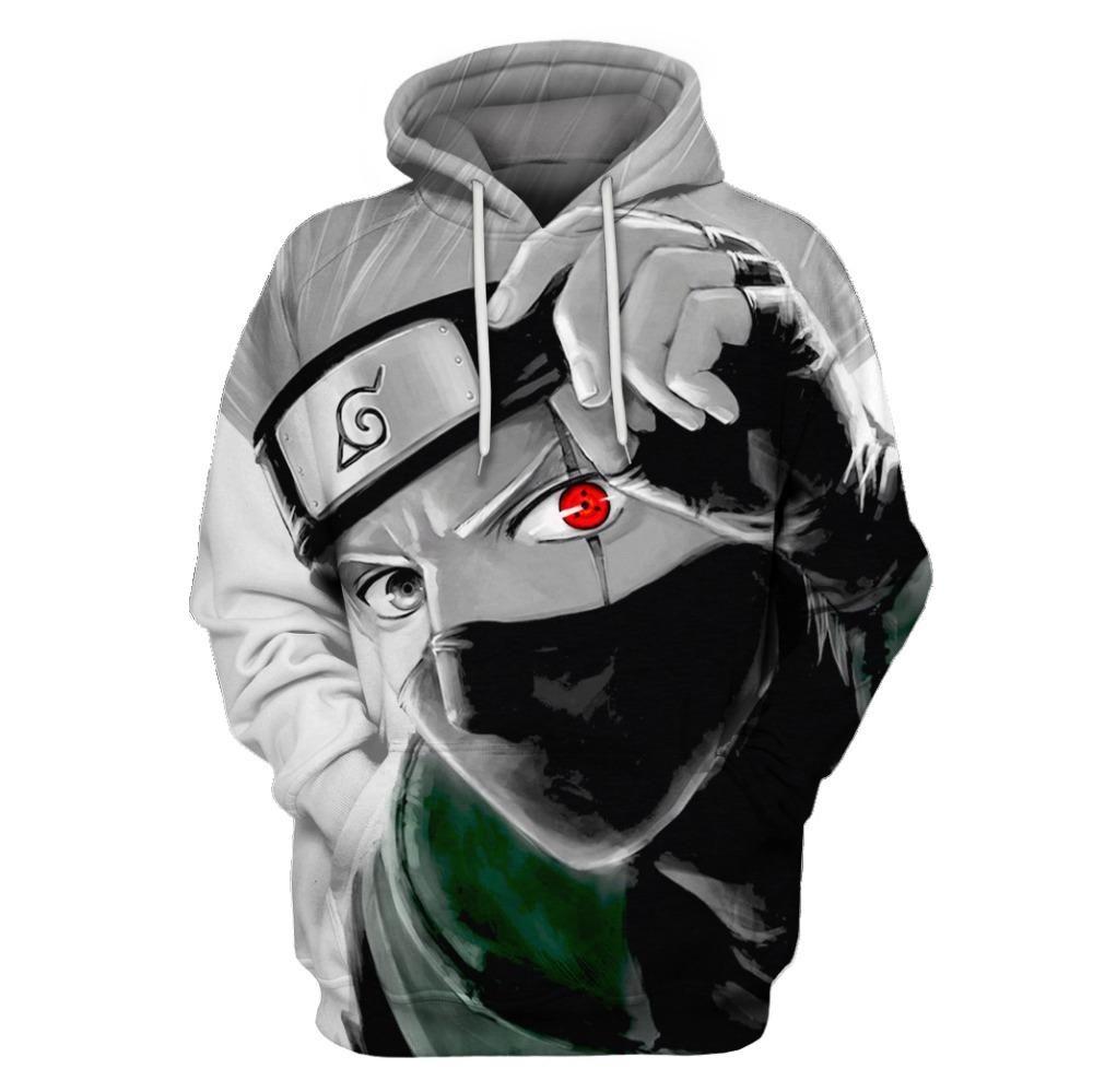 73870529b8bff Naruto Hatake Kakashi Hoodie Sweatshirt 3D Print