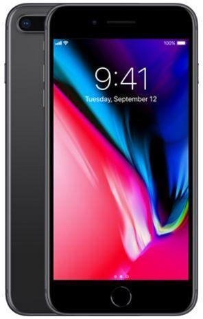 ابل ايفون 8 Plus مع فايس تايم 64 جيجا الجيل الرابع ال تي اي رمادي Apple Iphone Iphone 8 Iphone 8 Plus
