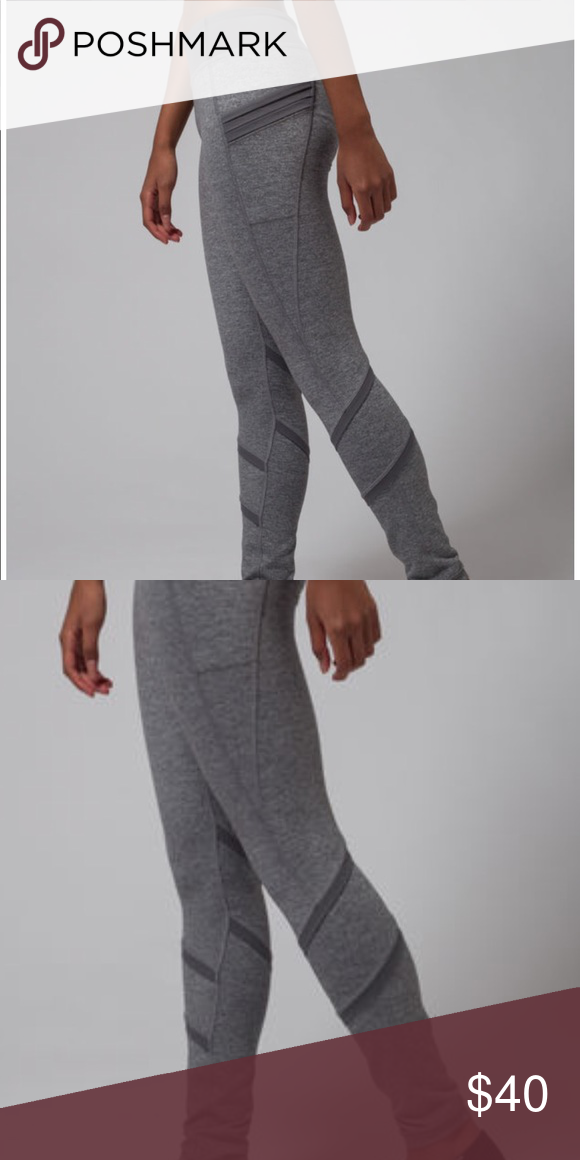 76402a6029 Ivivva • Girls Gray Dream Warrior Pants 10 - Ivivva - Girls line from  Lululemon