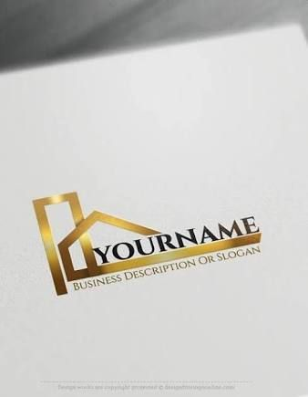 Awesome modern corporate logos googleda ara kobimer pinterest create a logo free construction logo templates readymade construction logo templates decorated with an image of modern house this realty logo images and colourmoves Images