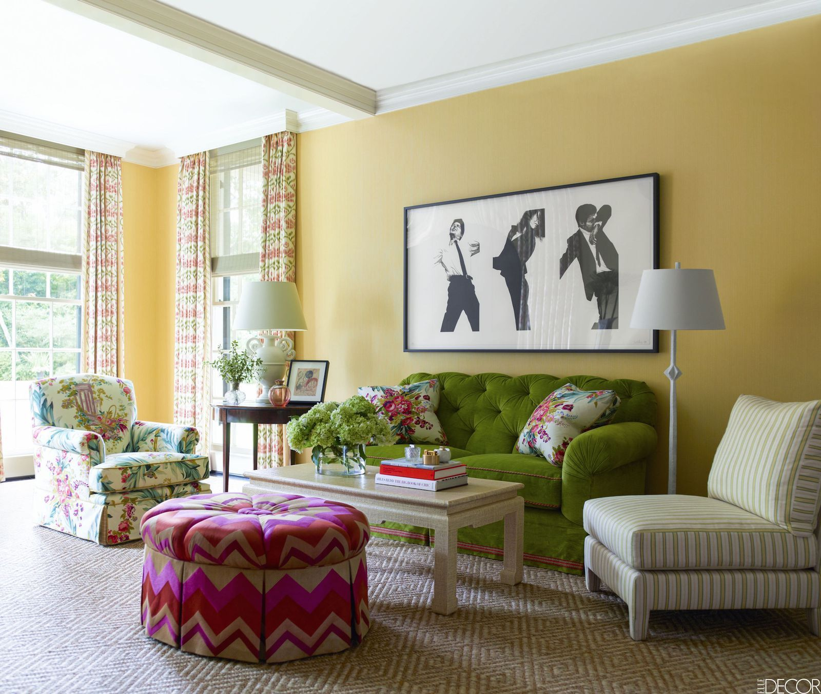 A Color System Can Establish The Tone For Your Living Room