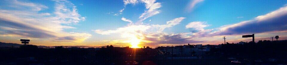 En UABC Ciencias de la Salud I #sunset #sun