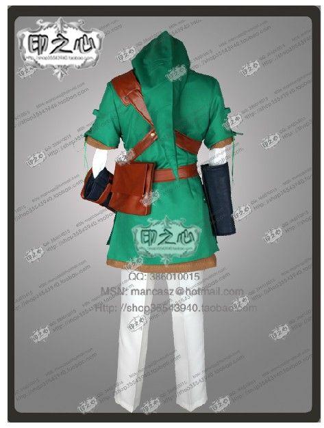 新着ゼルダの伝説リンクのコスプレ衣装アニメキャラクター