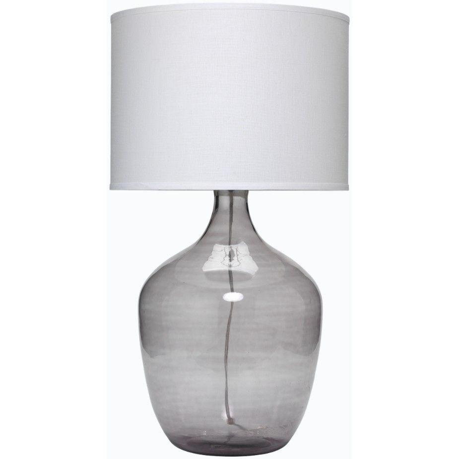 Jamie Young Co Extra Large Plum Jar Table Lamp Grey Master