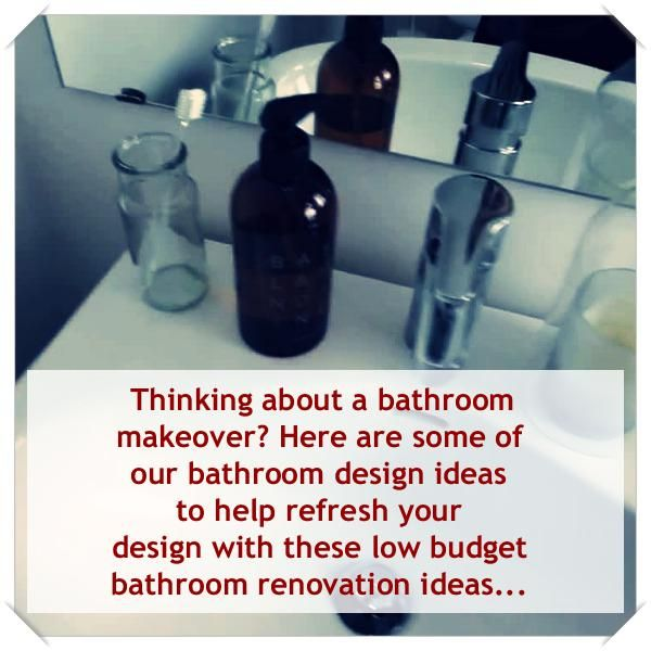 Great Bathroom Decor And Design | Budget bathroom ...