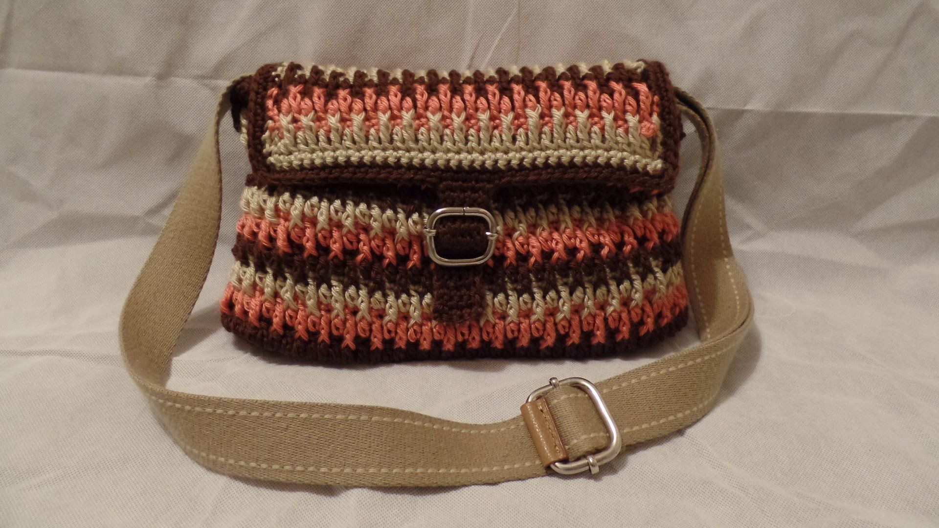 CROCHET How to #Crochet Handbag Purse #TUTORIAL #195