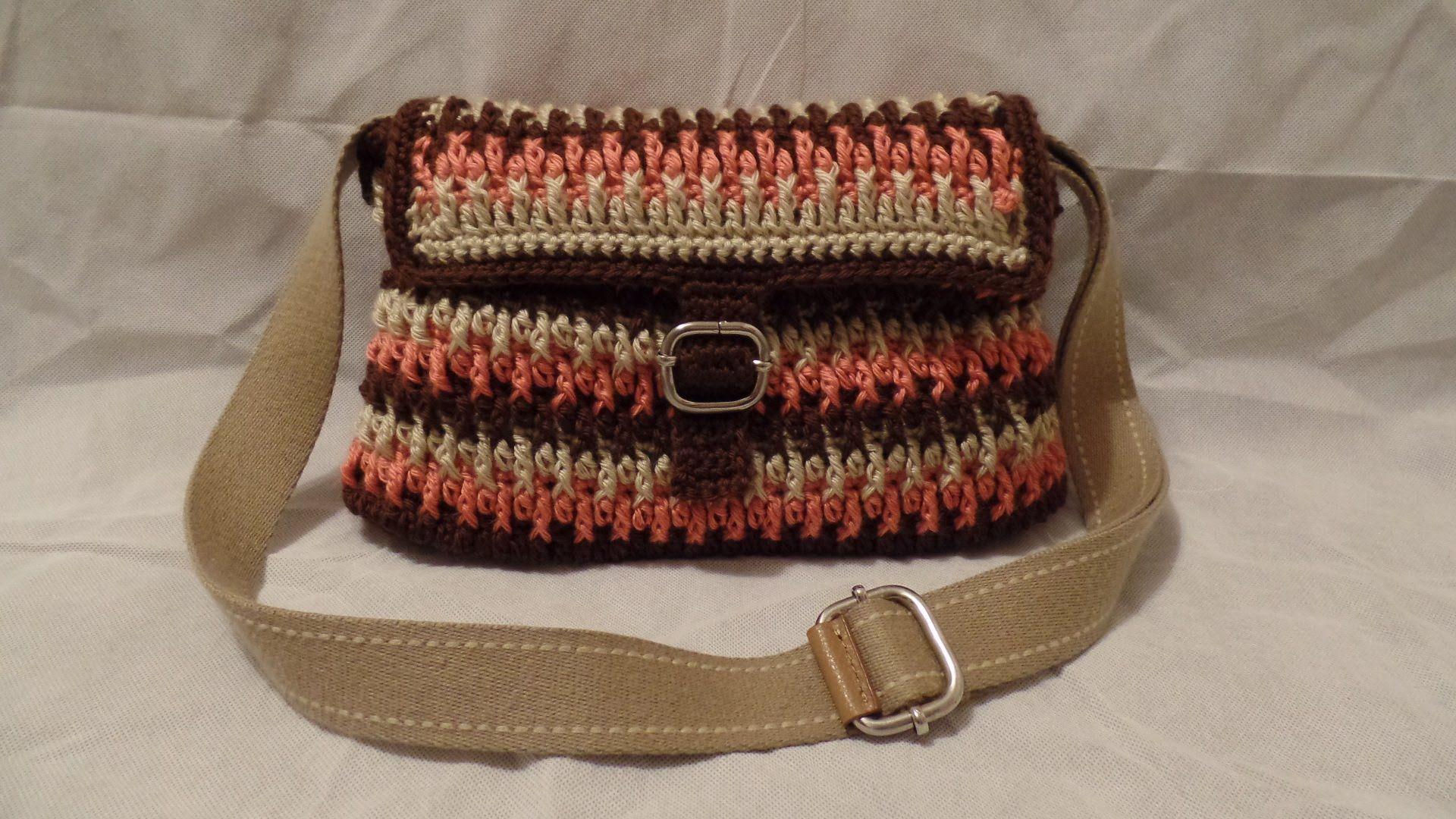 CROCHET How to #Crochet Handbag Purse #TUTORIAL #195