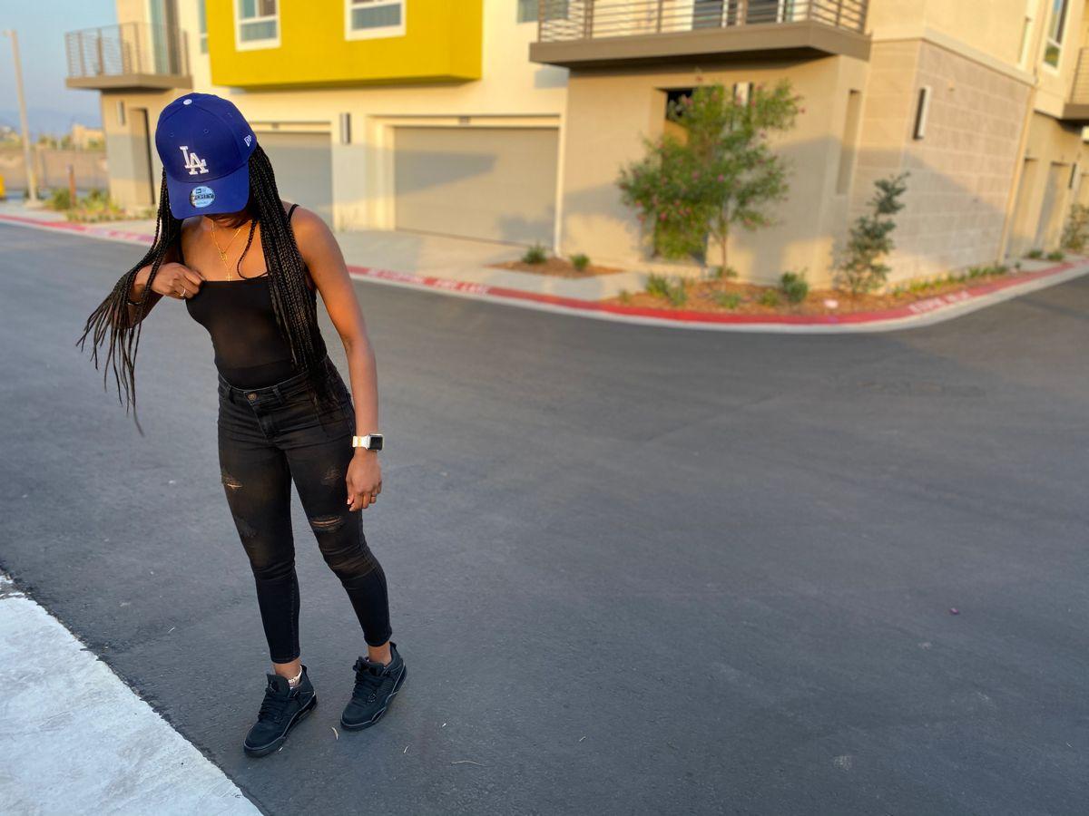 Jordan 4 Black Cat Black Cat Outfit Outfits With Hats Jordan 4 Black Cat