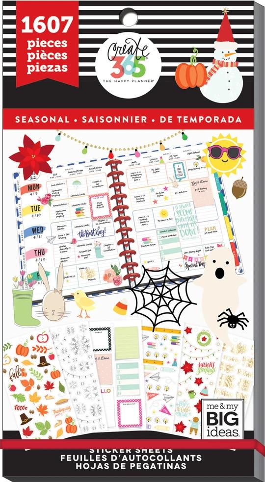 The Happy Planner Sticker Book Seasonal Release