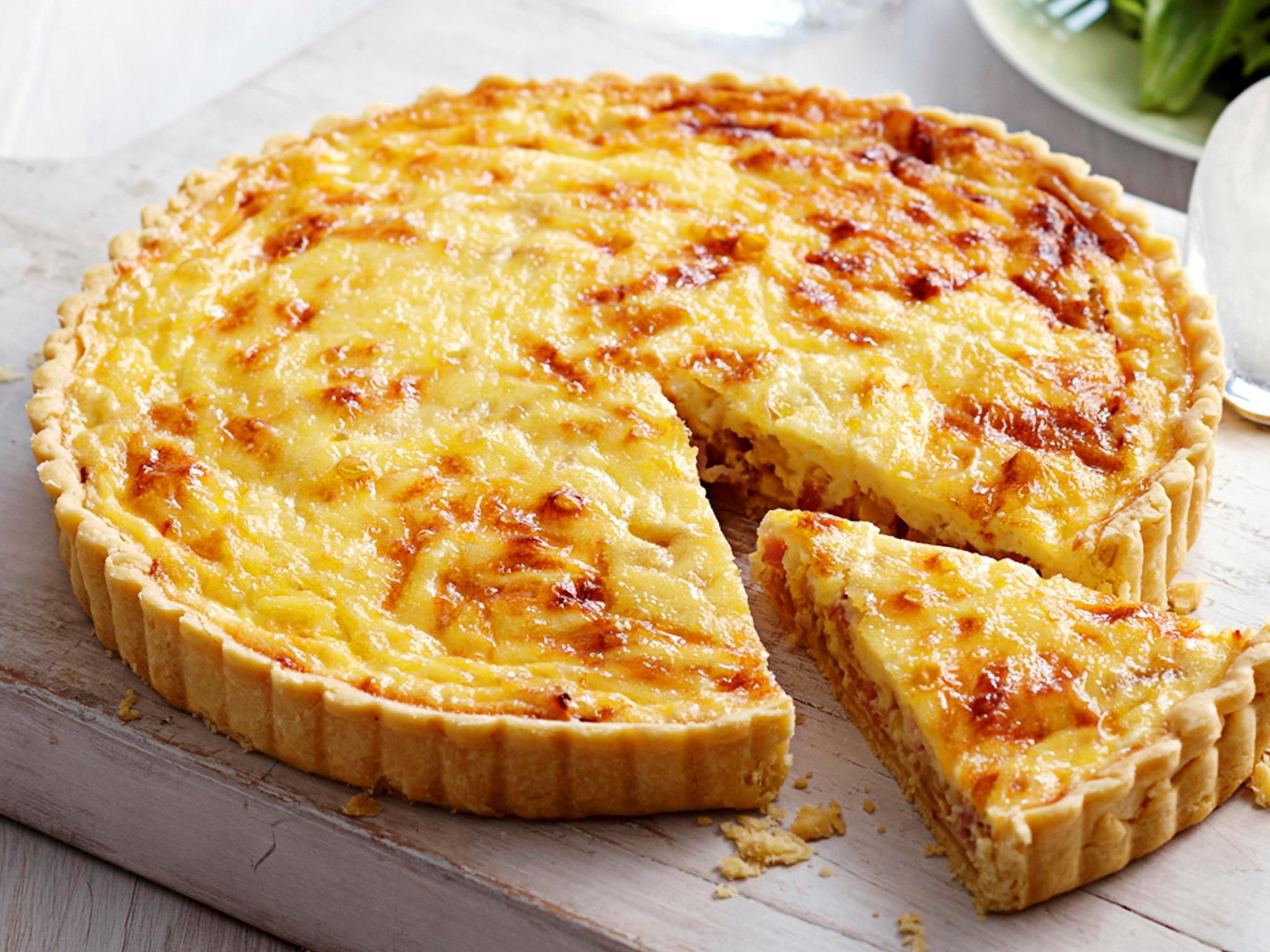 Quiche lorraine recipe pastry cook shortcrust pastry for Shortcrust pastry ingredients