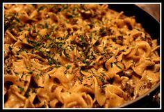 Ingredients: 2-3 lbs. of sirloin steak or top round 1 cup flour seasoned with 1/2 tsp. salt, 1/2 tsp. black pepper, and 1/2 tsp. seasoned salt 1 medium onion, diced 1 cup fresh mushrooms, sliced (optional) 1 Tbs. minced garlic 3 Tbs. oil (I use Canola) 2 Tbs. butter 1 can cream of mushroom soup [...]