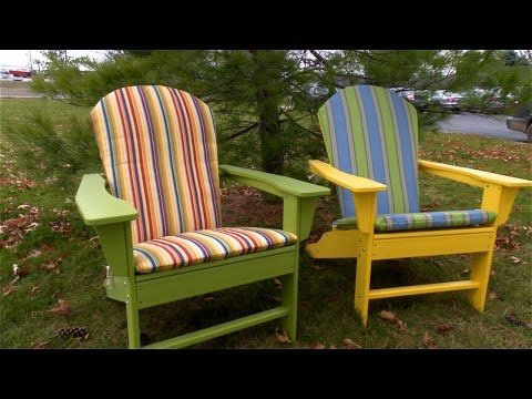 How to Make an Adirondack Chair Cushion | Do-It-Yourself Advice Blog ...