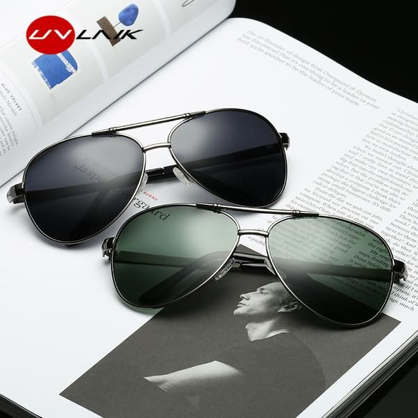Unisex Vintage Pilot Polarized Sunglasses Men Luxury Brand UV400 Sports Eyewear Design Retro Mirror Sun Glasses Women L6TTeeB