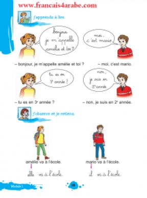 افضل كتاب لتعليم اللغة الفرنسية للاطفال والمبتدئين بالصور مع التمارين Le Francais Pas A Pas Methode De Lecture Lecture De Plan Lecture