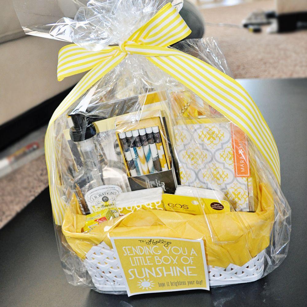 Box of sunshine box of sunshine happy gifts diy
