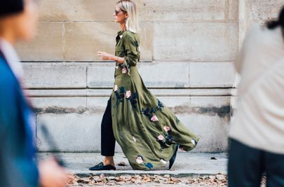 Paris Fashion Week is underway. See the best street style from the shows circuit as the spring/summer 2017 season reaches its final destination.