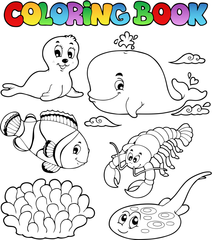 Раскраски | Книжка-раскраска, Раскраски с животными, Раскраски