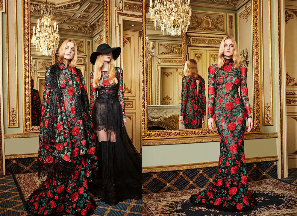 Yolan Cris FW 2016/17 Collection is already available on our website!  CHECK OUT the latest #fashionlooks that will make you swoon  #YolanCris #NewCollection #trends #style #FW #Eveningwear #totallook #fashion #fashionlook #PrêtàCouture  #netdress #roses #embroidereddress