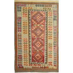 Photo of Kelim Afghan Old style Teppich 144×240 Orientteppich