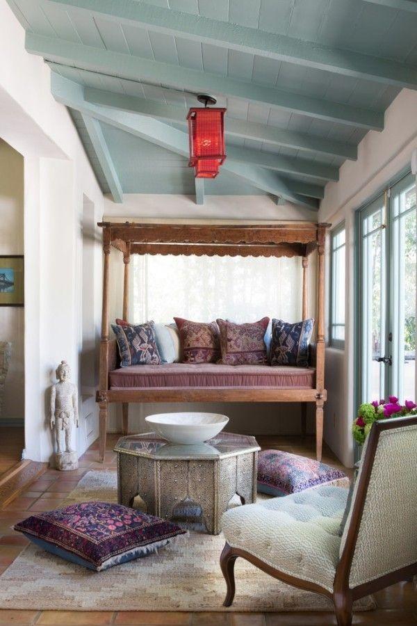 marokkanische lampe wohnzimmer ideen rotes design Beleuchtung - wohnzimmer design leuchten