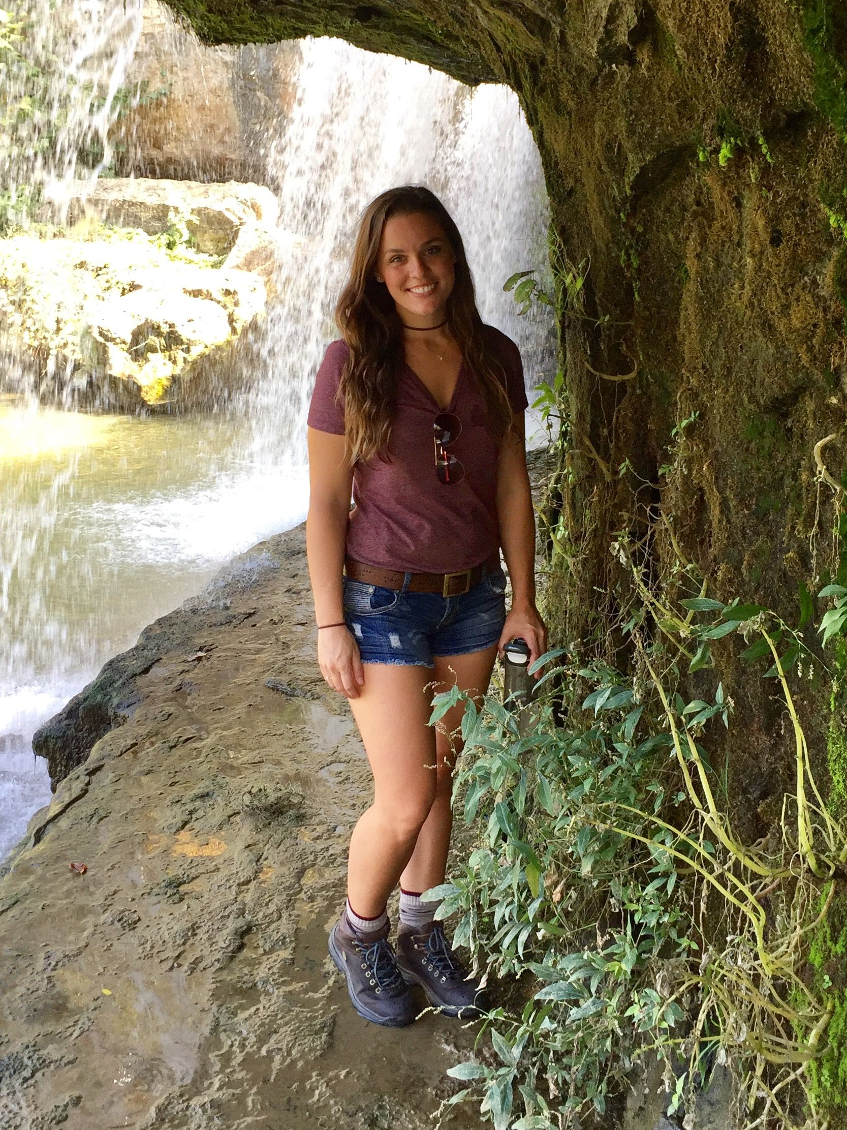 1a21249d6a1 Cute Hiking Outfit Cataract Falls