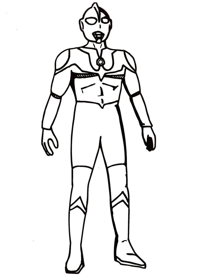 Printable Coloring Pages Of Ultraman For Those Of You Who Are Movie Lovers Who Have A Super Hero Genre From Japan You Must Have Heard The Ultraman Film Ultra Di 2020