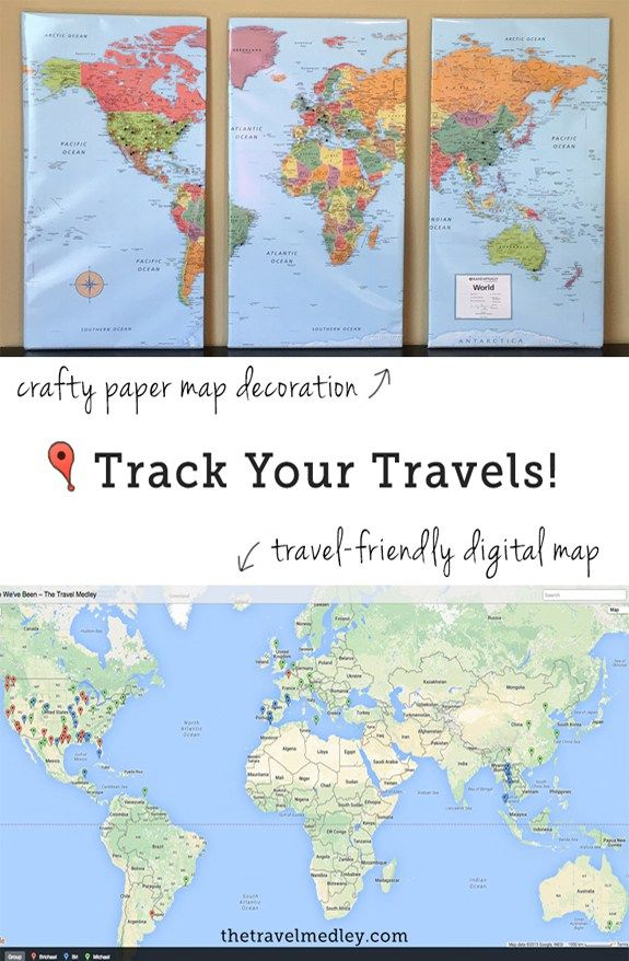 obsessed with tracking my travels in any way i can