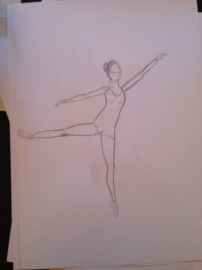 Love Dance Sketch Drawing Peace Pencil