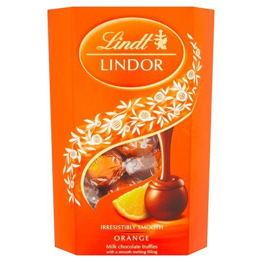 Lindt Lindor Milk Chocolate Orange 200g In 2020 Chocolate