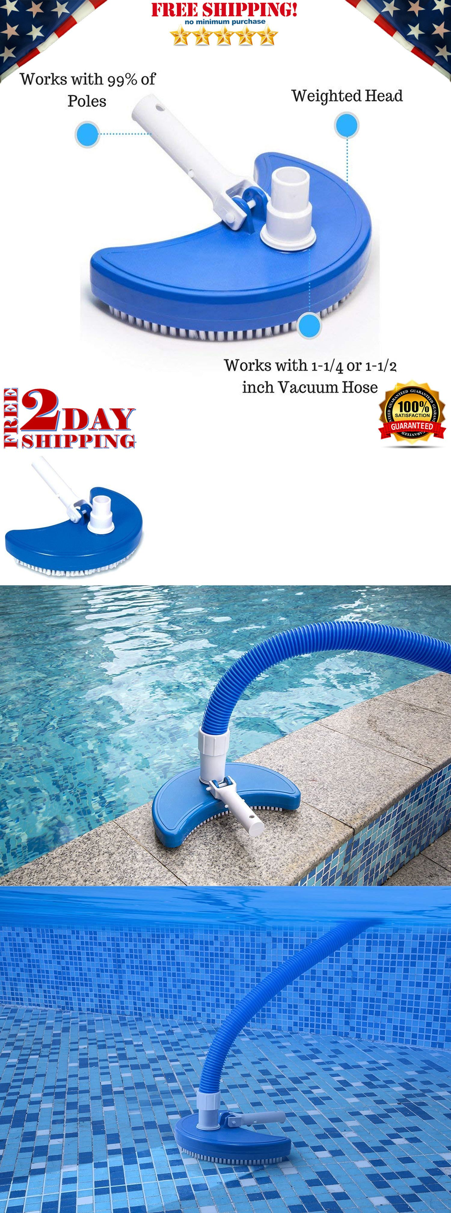 Pool Cleaner Attachments 181065 Pool Vacuum Head Cleaner Hose Inground Above Ground Brush Swimming Hydro Tools Buy It Now Pool Vacuum Pool Cleaning Vacuums