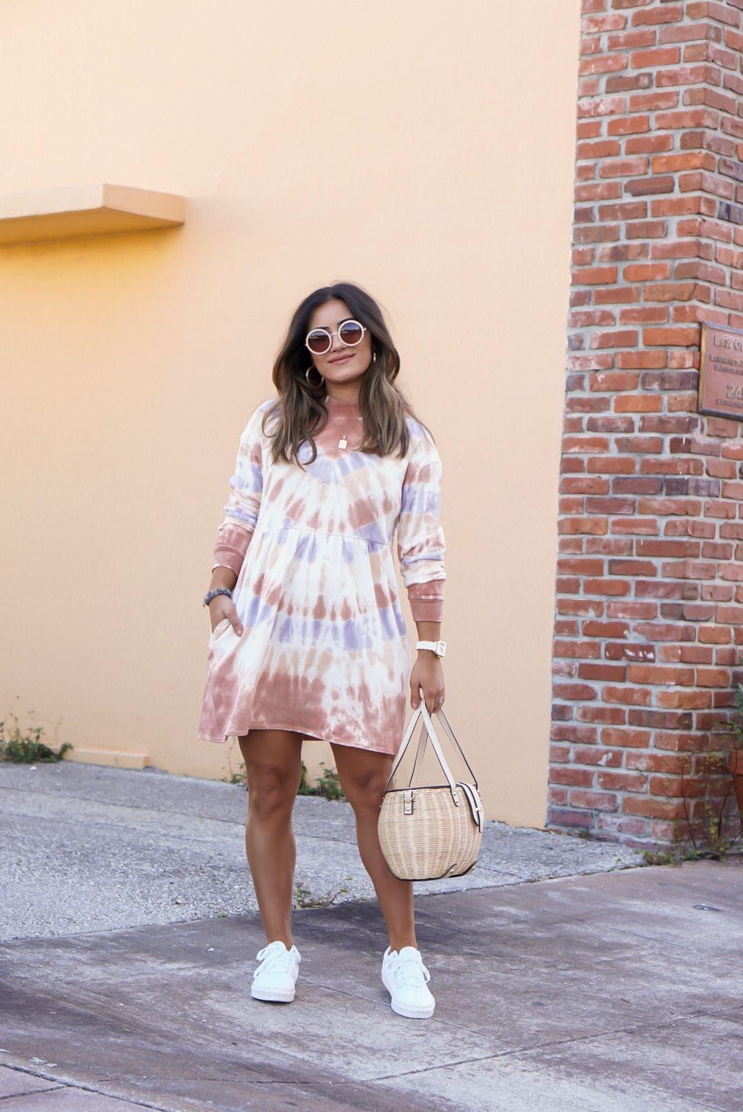 Tie Dye Dress Outfit 35 Tie Dye Pieces To Shop Sugar Love Chic Tie Dye Dress Outfit Tie Dye Dress Tie Dye Outfits [ 1616 x 1080 Pixel ]