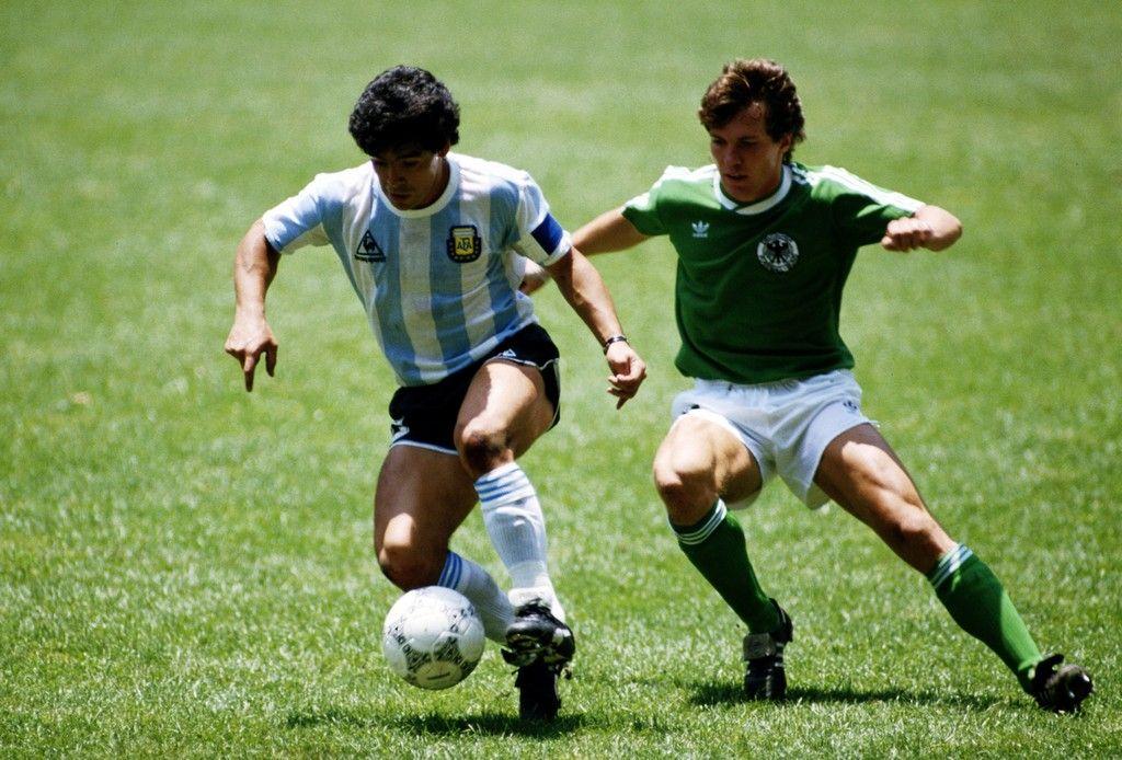 Diego Maradona vs Lothar Matthaus / '86 Mexico