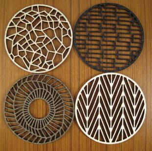 Geometric Coaster Set $36