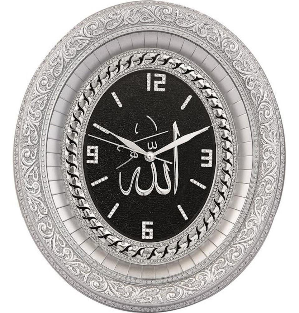8be86c7059 Oval Islamic Wall Clock 'Allah' 32 x 37cm 0547 in 2019 | Products ...