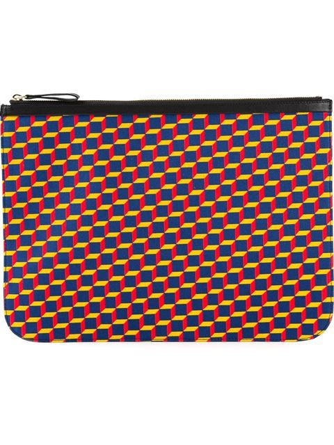 a5d78549861d Pierre Hardy Graphic Print Laptop Case - Excelsior Milano - Farfetch.com