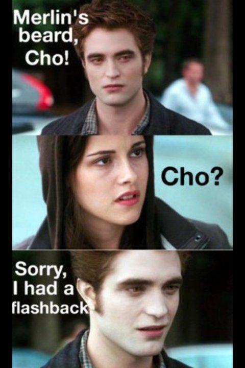 Edward Cullen Is A Hufflepuff Harry Potter Twilight Harry Potter Funny Harry Potter Jokes
