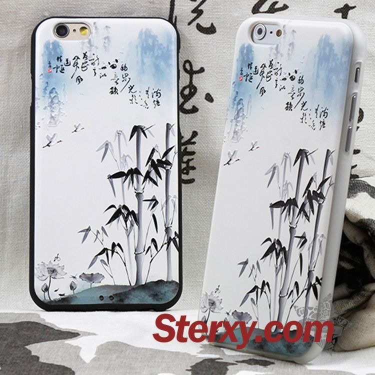 Oriental Bamboo Ink Painting Iphone Cases, made of durable TPU material,compatible with Iphone 6, 6s, 6 plus/ 6s plus. Shop now at http://www.sterxy.com/category/Iphone-Cases/157.html