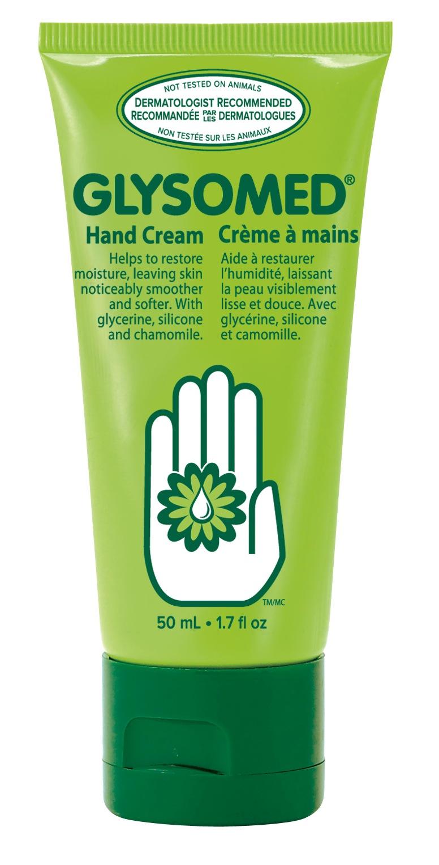 glysomed hand cream on face