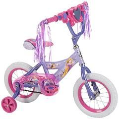 Disney Princess 12 Inch Girls Bike By Huffy Ideal For Ages 3 5 And Rider Height 37 42 Inches Magic Bike With Training Wheels Disney Princess Bike Kids Bike