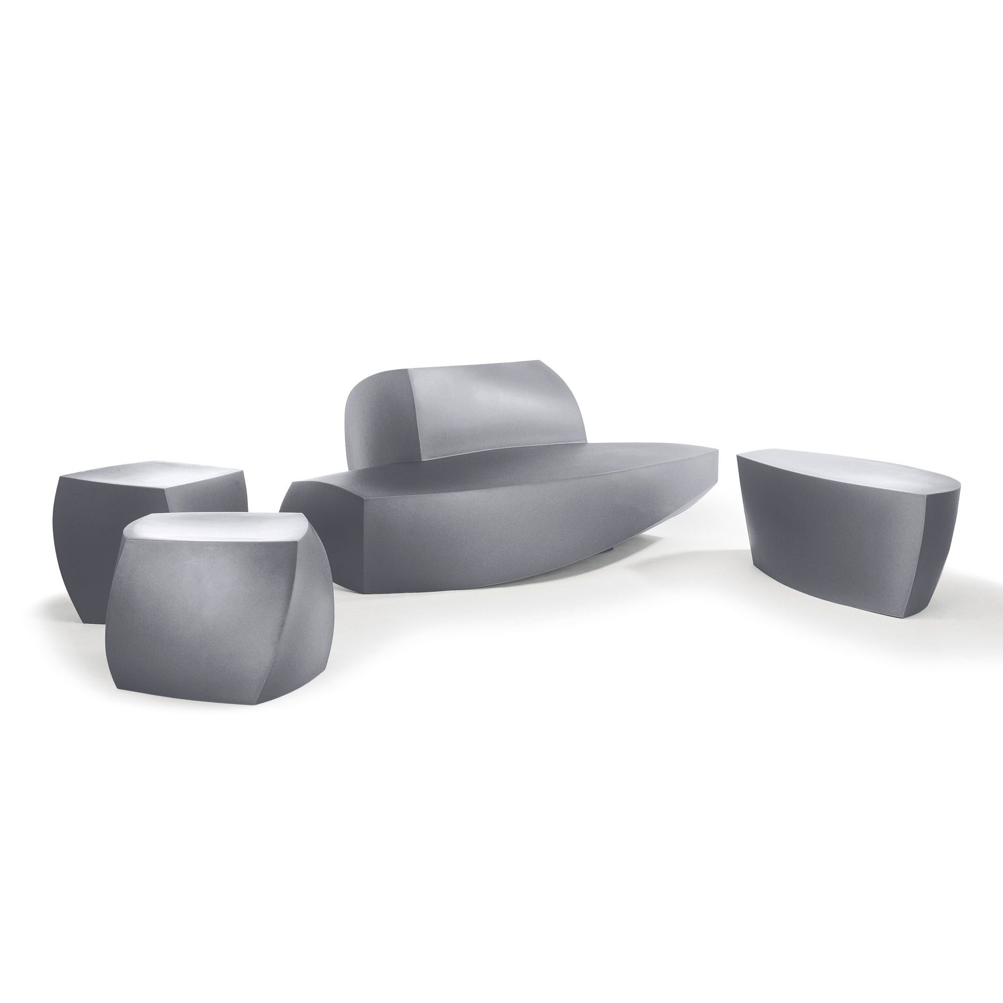 Lovely Outdoor Furniture: Heller Frank Gehry Bench Seating Group | AllModern