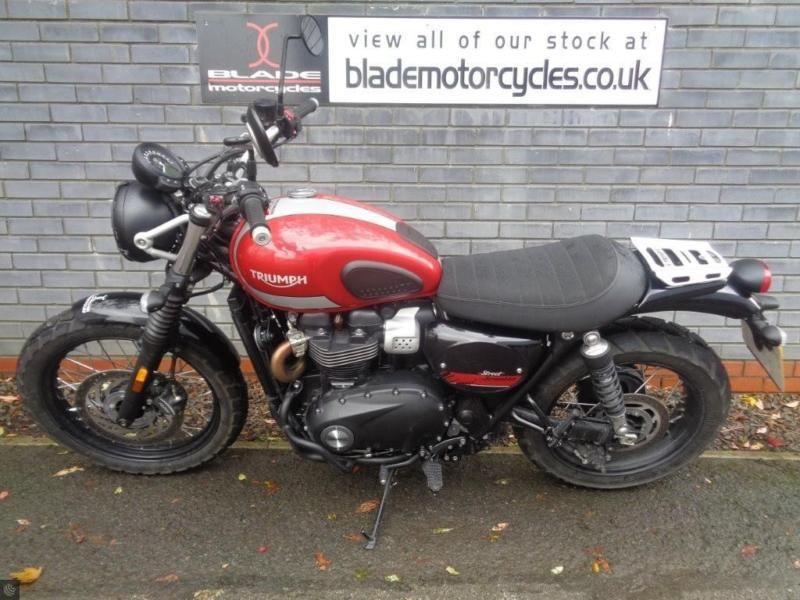 Triumph Street Scrambler 900 Custom Motorcycles For Sale In United