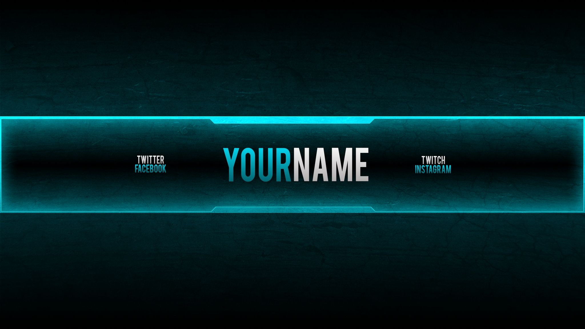 youtube gaming banner template