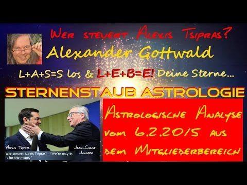 Horoskop Alexis Tsipras - Was Mitglieder schon im Februar über ihn wussten